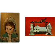 Jumeau Doll & Toy Museum Postcards