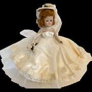 Vogue Jill 1957 Bride Hard Plastic Fashion Doll