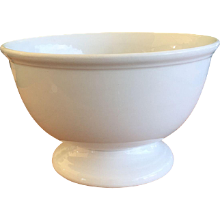 19th Century Ironstone Punch Bowl Alfred Meakin