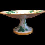 19th Century Minton Majolica Cake Stand / Pedestal / Tazza
