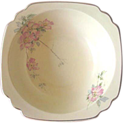 Vintage 1930's Homer Laughlin Briar Rose Serving Bowl