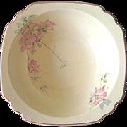 Vintage 1930's Homer Laughlin Briar Rose Serving Bowl