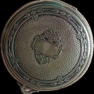 Vintage Silvertone Powder Mirror Compact