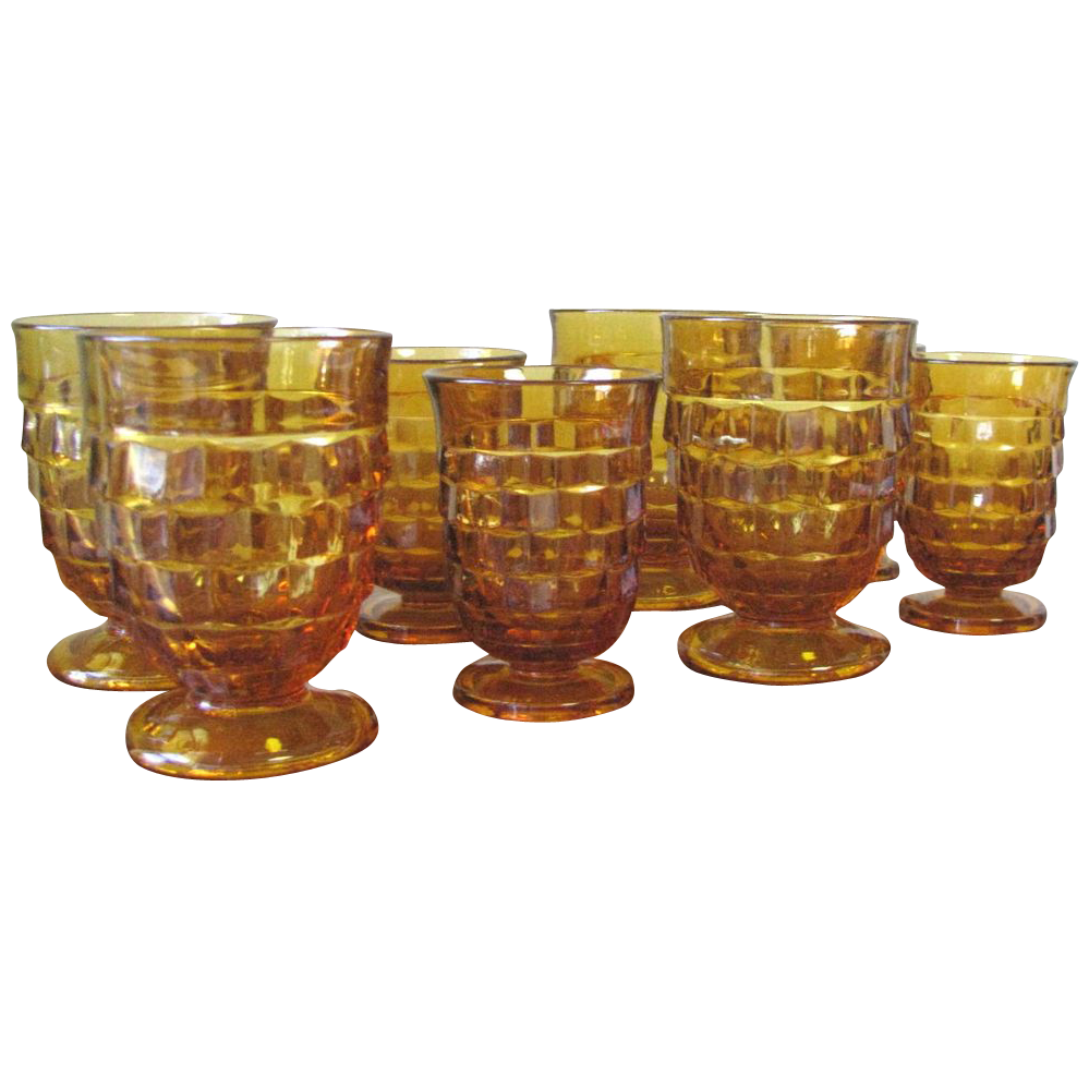 Amber Depression Glass Patterns Simple Inspiration