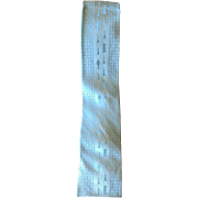 Vintage 1950's Pale Blue Mens Silk Skinny Tie