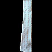 Vintage 1950's Pink Square Bottom Skinny Tie