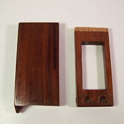 Mahogany Slide Whistle | 19th Century