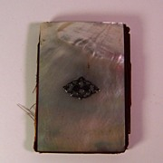 Mother of Pearl Lady's Notepad | ca. 1880