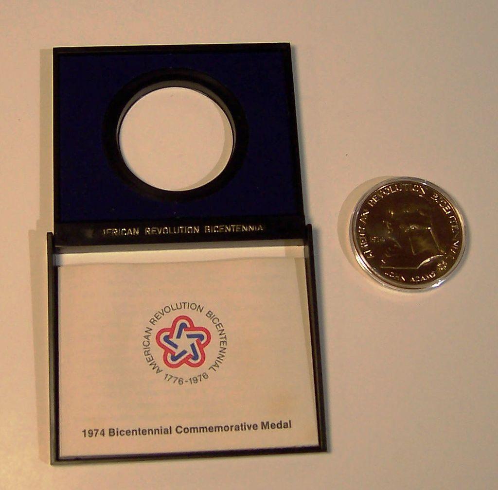 John Adams National Bicentennial Commemorative Medal | 1974