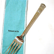 "TIFFANY & Co. Cold Meat Fork | ""San Lorenzo"" ca. 1916"
