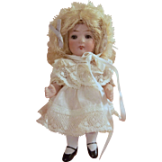 "5"" Charmingly Chubby ABG All Bisque Doll with Lots of Character c1911 - Summer Sale - Final Markdown!"