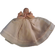 """Precious 4"""" All Bisque Bye-Lo Baby Girl - SUMMER SALE FINAL MARKDOWN!"""