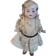 "Sweet Limbach German All Bisque 4-3/4"" Doll"