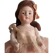 "Beautiful 4-1/2"" All Bisque Doll"