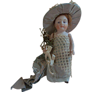"Absolutely Lovely 5"" Antique All Bisque German Doll"