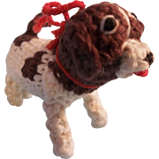Little Crocheted Toy Dog for your Special Doll