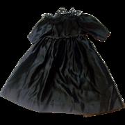 Wonderful Edwardian Dolls Mourning Dress
