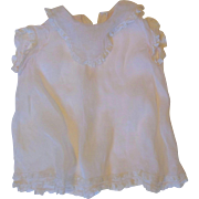 Lovely Organdy Baby Dress for your Large Vintage Doll
