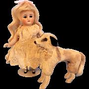 Wonderful Borzoi Miniature Dog made in West Germany
