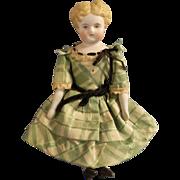"""Lovely 7"""" Parian Head China Doll"""