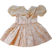 Precious Vintage Polka Dot Dress for your Special Doll