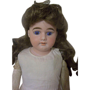"Beautiful 19"" Armand Marseille Bisque Shoulder-head Doll"