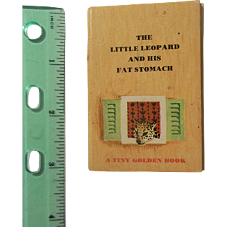 The Little Leopard and His Fat Stomach - A Tiny Golden Book