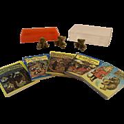 Set of 5 Different Mini Bear Story Books plus the 3 Bears - Tiny Doll Books