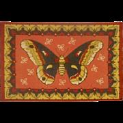 Pretty Butterfly Dollhouse Rug
