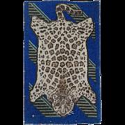 Wonderful Leopard Pelt Dollhouse Rug - Hard to Find