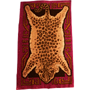 Vibrant Leopard Pelt Dollhouse Rug - Hard to Find