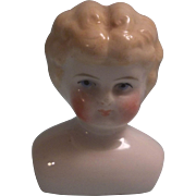 Lovely Small Blond Low Brow China Doll Head