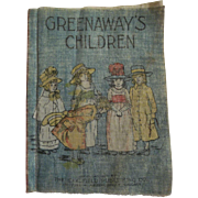 "Small Muslin Cloth Book ""Greenway's Children"" for a Large Doll"