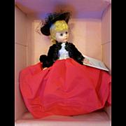 "Beautiful 9"" Vintage 1987 Madame Alexander Doll Portrettes #1114 Lily MIB"