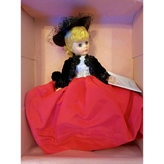 "Beautiful 9"" Vintage 1987 Madame Alexander Doll Portrettes #1114 Lily MIB"
