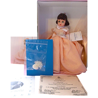 "Limited Edition MADC Convention Madame Alexander ""Orange Blossom"" Mint in Box"