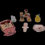 Vintage Dollhouse Miniature Items for Doll House Dolls