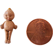 "Teeny Tiny 1"" Metal Kewpie Doll"