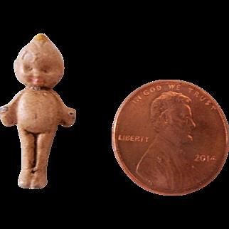 "Teeny Tiny 1"" Metal Kewpie Doll"