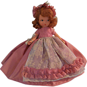 Beautiful Vintage Nancy Ann Story Book Doll c1943-45