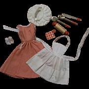 Fabulous Vintage Barbie-Q Set #962 c1959-1962