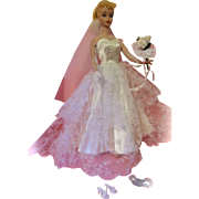 Magnificent  Vintage Barbie Wedding Day Set #972 c1959-1962