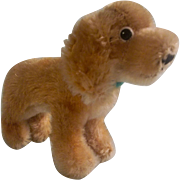 Adorable Vintage Steiff Golden Cocker Spaniel for your Special Doll