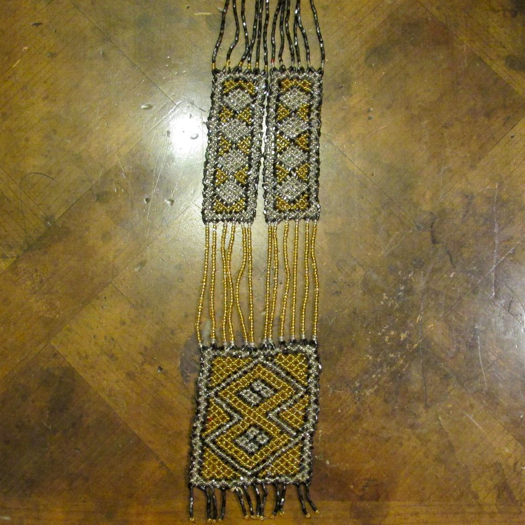 Vintage 1920 S Flapper Era Beaded Necklace From Ewantiques
