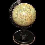 Vintage 1920's Reliable Series Tin World Globe
