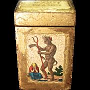 Vintage Deck Of Tarot Cards In Original Florentine Case
