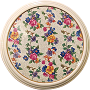 Vintage Warwick Cheery Chintz Tea Tile