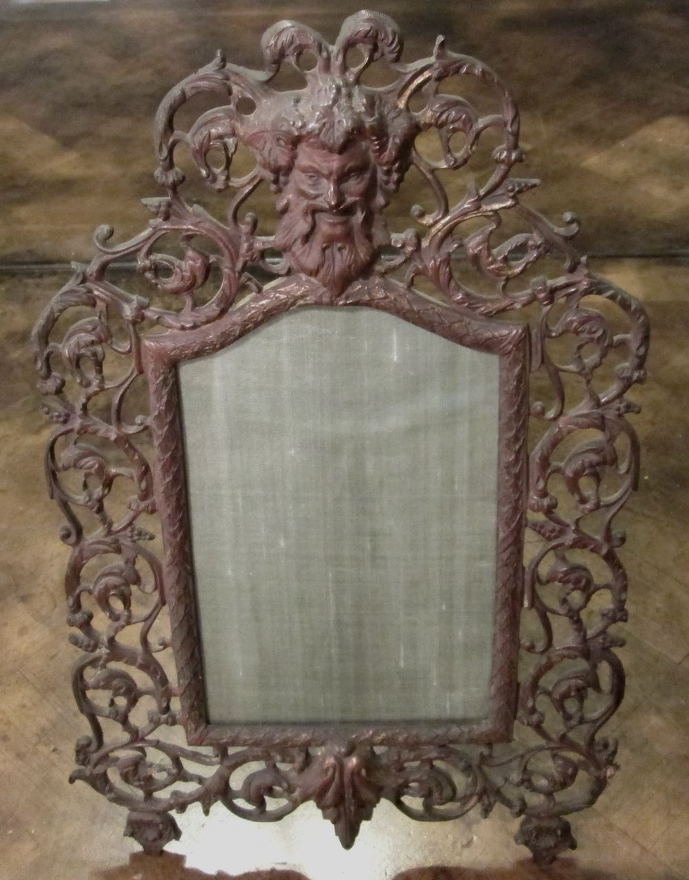 Antique Bronze Picture Frame By E. Blaesius, Circa 1900