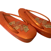 Japanese Zouri Sandals for Kimono Dress Yukata Sandals 9 Inch Women Sandals