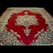 ON SALE Beautiful Rare Mint Persian RUG 10 x 13 Superb Masterpiece Museum Quality Kork Kashan - Red Tag Sale Item
